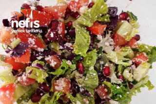 Diyet Salatam Öğle Yemeği Tarifi
