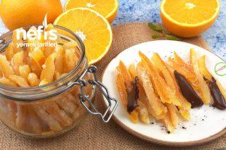 Portakal Kabuğu Şekerlemesi (Videolu) Tarifi