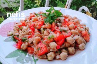 Sağlıklı Nohut Salatası Tarifi