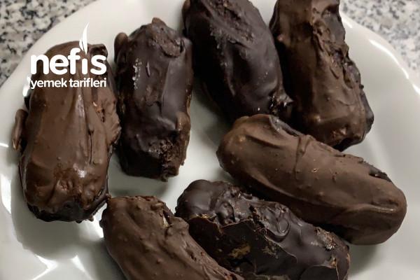 El Yapımı Sağlıklı Cocostar (Hindistan Cevizli Çikolata) Tarifi