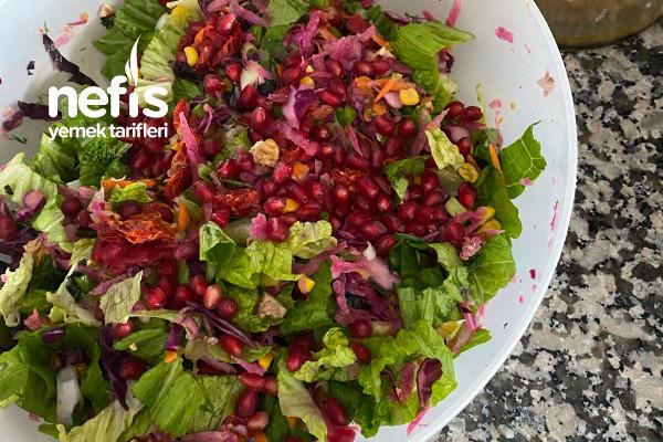 Kış Salatası Ne Bulursan Koy Salatası Tarifi