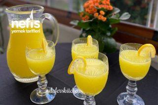 Limonata (Malzemeleri Şimdi Dolaba Atalım Yaza Hazır Olsun) Tarifi