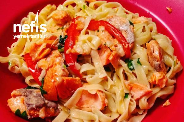 Somonlu Tagliette (İtalyan Mutfağı)