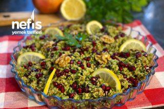Bol Vitaminli Brokoli Kısırı Tarifi