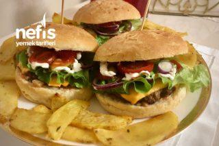 Hamburger (Şahane Ev Yapımı Ekmeğiyle) Tarifi