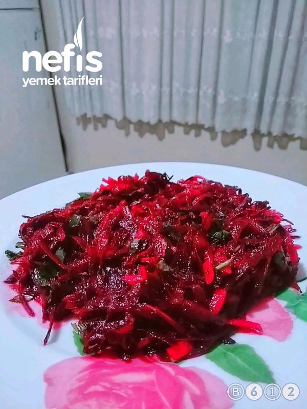 Kırmızı Pancar Salatası(diyetisyen Tarifi)