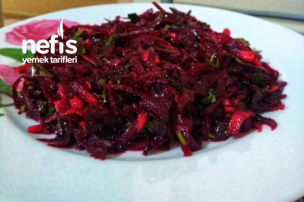 Kırmızı Pancar Salatası (Diyetisyen Tarifi)