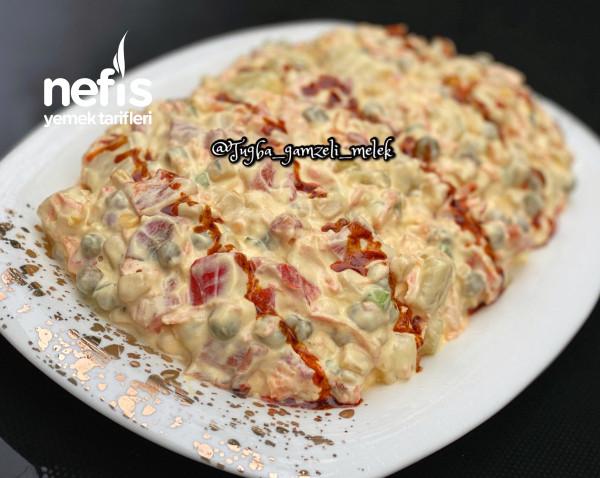 Köz Biberli Şahane Patates Salatası (Meze)