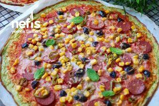 Kabak Tabanlı Pizza Tarifi