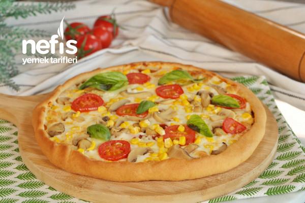 Mozzarella Peynirli Pizza Tarifi
