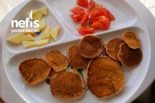 Muzlu Ballı Pankek (Yumurtasız) 12ay+ Tarifi