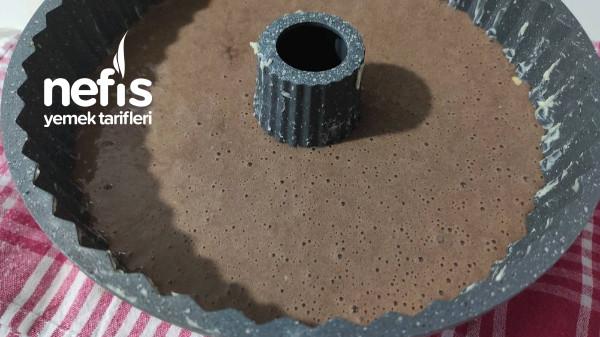 Topkek Tadında Kakaolu Fındıklı Kek (Videolu)