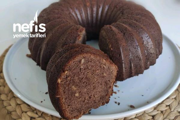 Topkek Tadında Kakaolu Fındıklı Kek (Videolu) Tarifi