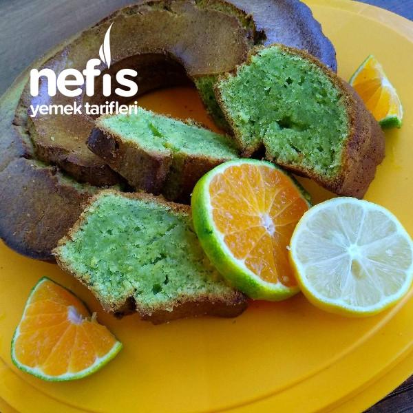 Ispanaklı Kek (Limon Ve Mandalina Aromalı)