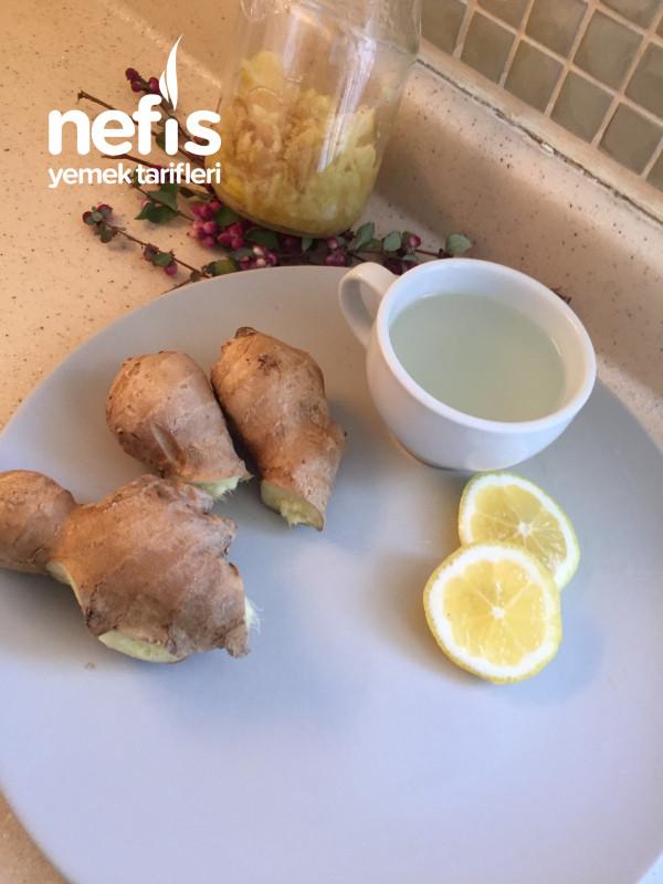 Sarı Kış Çayı (Zencefil Bal Limon)