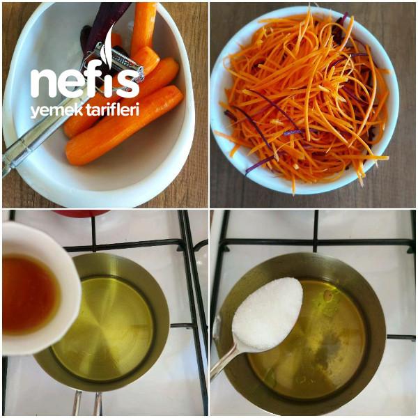 Havuç Salatası (Kore Usulü)