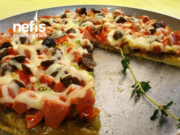 Kahvaltıda Pizza Omlet (Tadına bayılacaksınız)