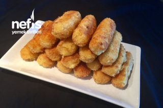 Kahvaltıya Enfes Patates Kroket Tarifi