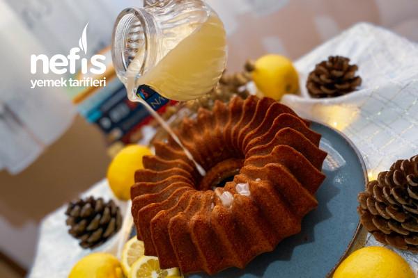 Limon Soslu Limonlu Kek (C Vitamini Deposu)