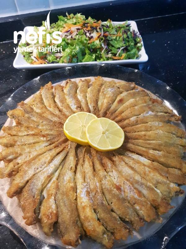Tavada Mezgit balığı kızartması