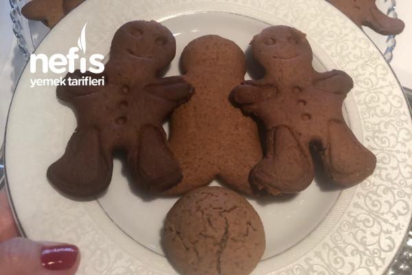 Zencefilli Adam Kurabiye (Gingerbread) Tarifi