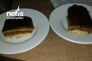 Çikolatalı Çift Renkli Kedi Dili Pastası (Bayılacaksınız) Tarifi