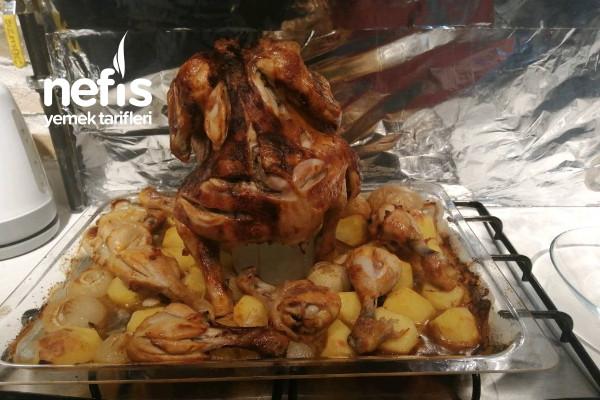 Fırında Tavuk (Cam Kavanozda) Tarifi