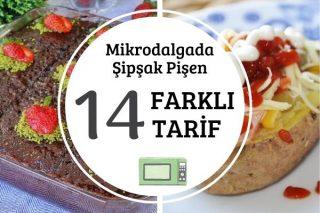 Mikrodalgada Hızlıca Pişirebileceğiniz Çok Nefis 14 Farklı Tarif Tarifi