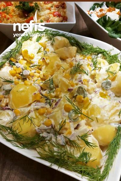Nefis Salata Soslu Patates Salatası