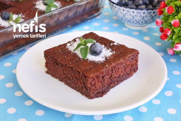 Pastane Usulü Kakaolu Islak Kek (Muhteşem) (videolu) Tarifi