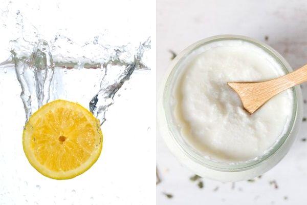 yoğurt limon maskesi