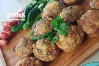 Kahvaltılık Tarif Mısır Unlu Patatesli Muffin Kalıbında Omlet Tarifi