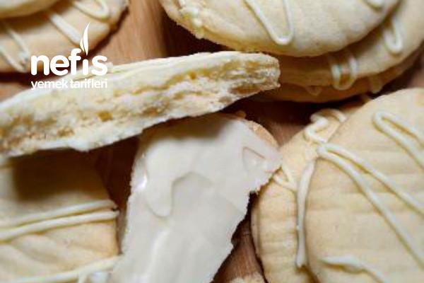 Limonlu Beyaz Çikolatalı Hanımeller Kurabiye