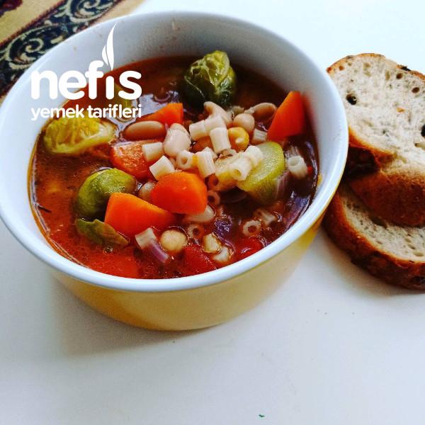 Minestrone Çorbası (İtalyan Mutfağı)