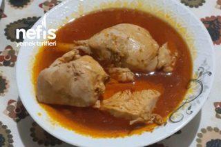 Sulu Tavuk Yemeği Tarifi