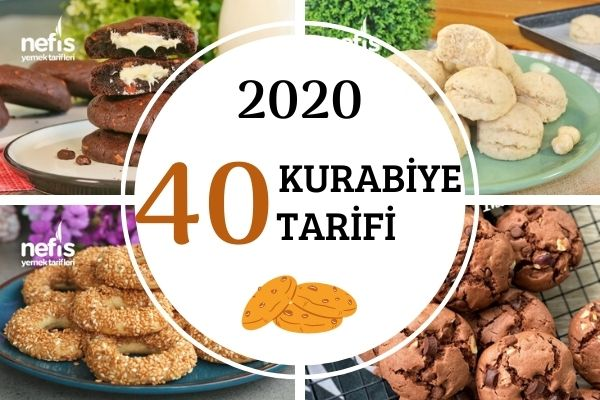 2020'nin En Popüler 40 Kurabiye Tarifi