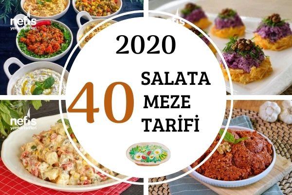2020'nin En Popüler 40 Salata-Meze Tarifi