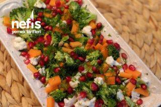 Bol Vitaminli Çiğ Brokoli Salatası Tarifi