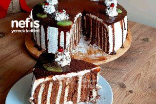 Tencerede Şık Sunumlu Bisküvili Pasta (Videolu) Tarifi