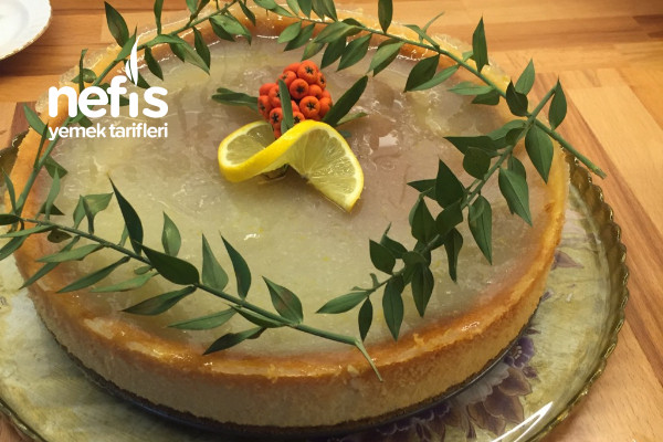 Cheesecake Limonlu Frambuazlı Tarifi