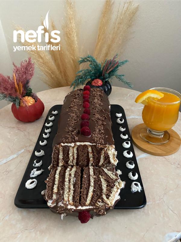Hazır pastaları aratmayan mozaik pasta