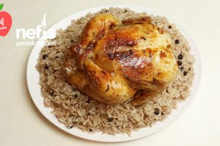 İç Pilavlı Yılbaşı Tavuğu   Fırında Bütün Tavuk Nasıl Yapılır? (Videolu)