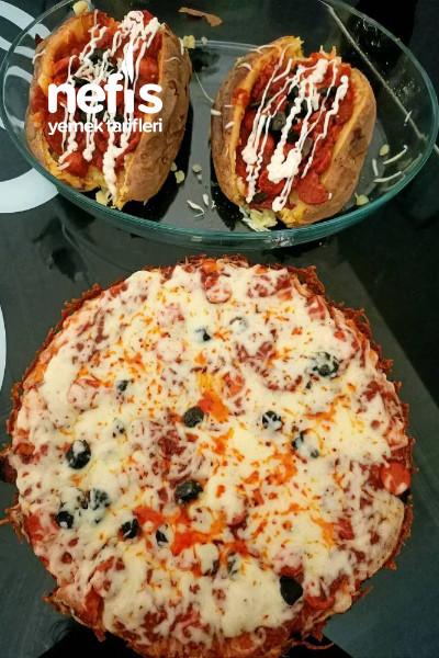 Kabak Tabanlı Fit Pizza
