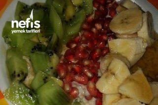 Meyveli Yulaf Ezmesi Tarifi