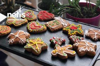 Ginger Bread Cookies (Zencefilli Yılbaşı Kurabiyeleri) Tarifi