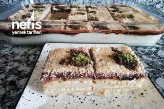 Kolay Petibör Bisküvili Pasta (Videolu) Tarifi