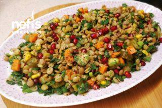 Yeşil Mercimek Salatası (Videolu) Tarifi