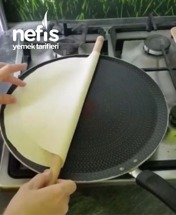 Krep Tavasında Kuru Yufka Yapımı (Videolu)