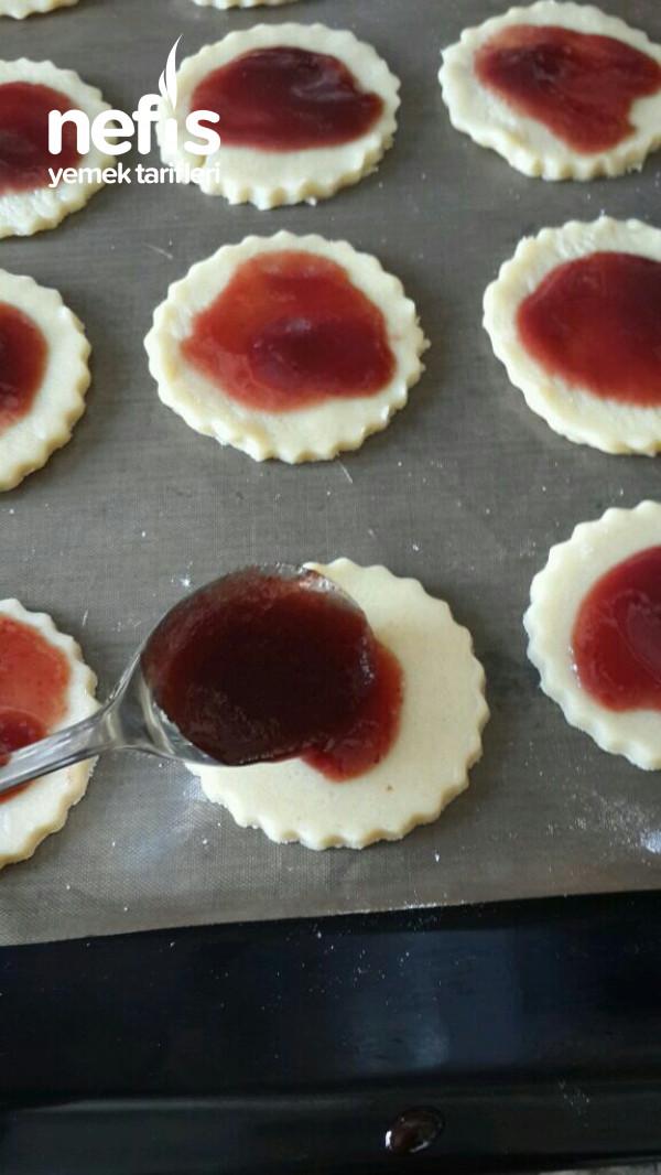 Marmelatlı Tart Kurabiye