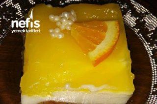 Portakallı Muhallebili Etimek Tatlısı Tarifi